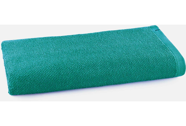 möve Saunatuch New Essential Uni emerald 80 x 200 cm