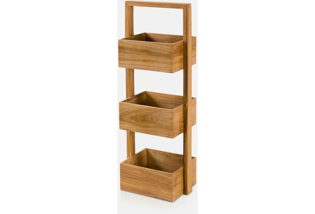 möve Standregal Teak wood 30x22x81cm
