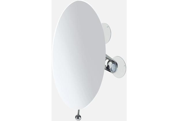möve Wand-Kosmetikspiegel oval Mirrors chrome Ø 15 x 20 cm