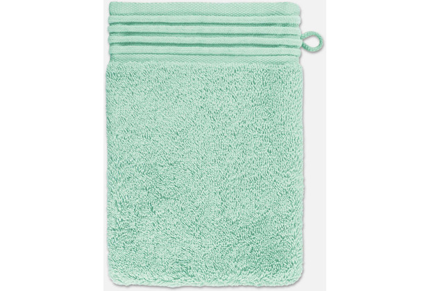 möve Waschhandschuh Loft celadon 20 x 15 cm
