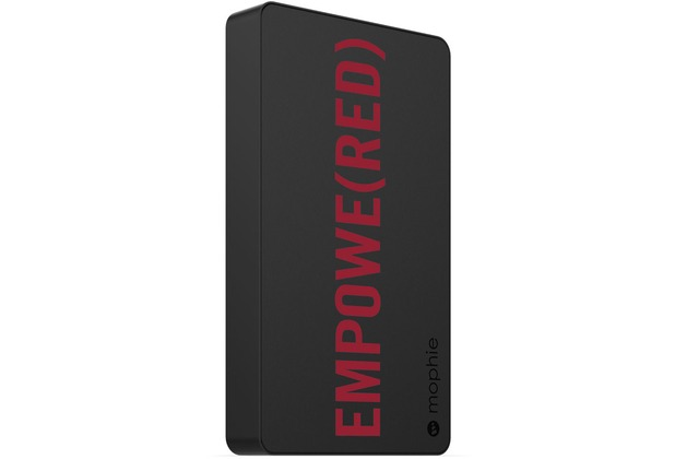 Mophie Powerstation, (PRODUCT) RED - Externe Schnellade-Batterie  (6000 mAh, 2x 2,1A)
