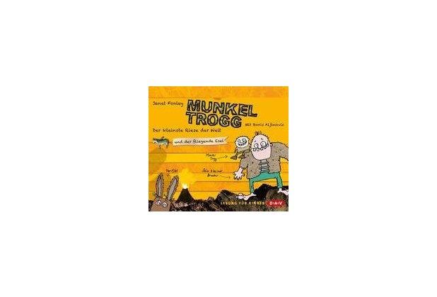 Munkel Trogg - Der kleinste Riese der Welt und der fliegende Esel Hörbuch