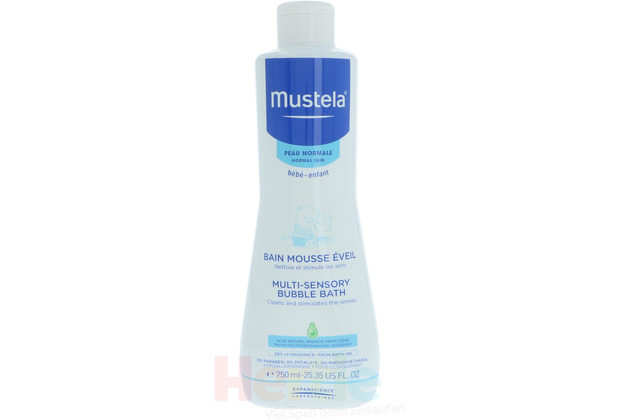 Mustela Normal Skin Multi-Sensory Bubble Bath 750 ml