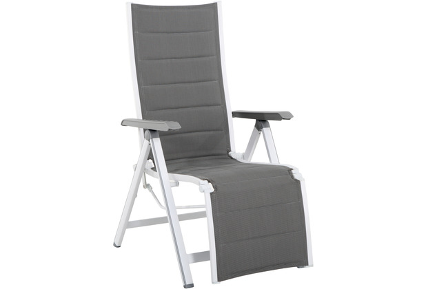MWH Relaxsessel Futosa grau/weiß