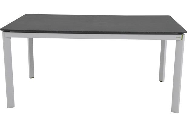 MWH Tisch Alutapo 160x95 cm weiß