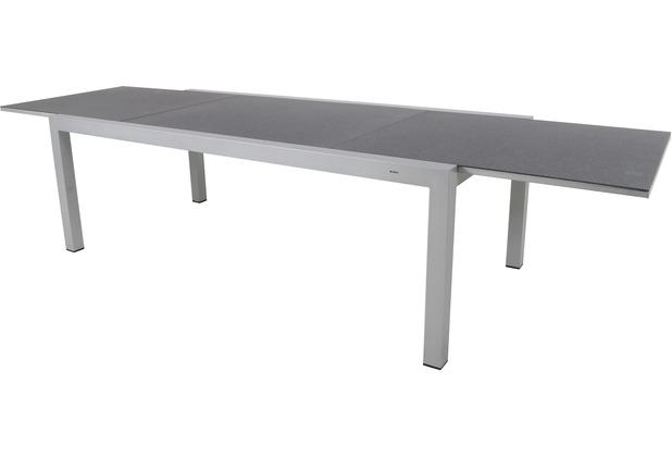 MWH Tisch Extendo 220/340x106.5 cm silber