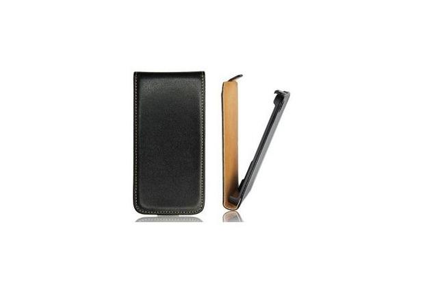 my-eXtra Flip-Tasche Slim für Samsung Galaxy A3 - schwarz