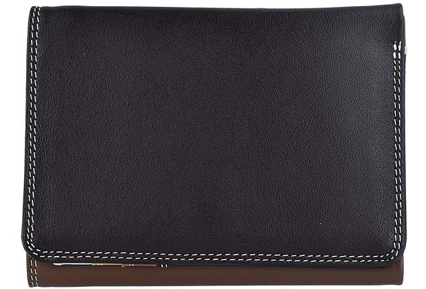 Mywalit Medium Tri-fold Wallet Geldbörse Leder 12 cm mocha
