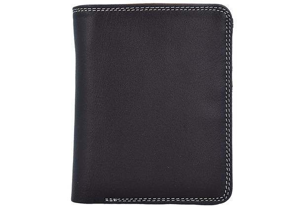 Mywalit Medium Wallet Geldbörse Leder 11 cm mocha
