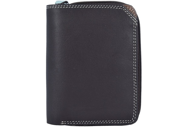 Mywalit Small Wallet Geldbörse Leder 10 cm mocha