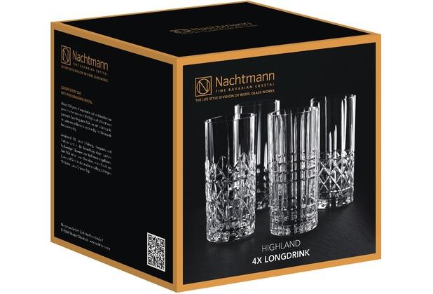 Nachtmann Highland Longdrink 4er-Set