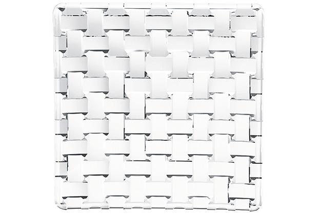 Nachtmann Platte quadratisch 2er-Set Bossa Nova 14cm