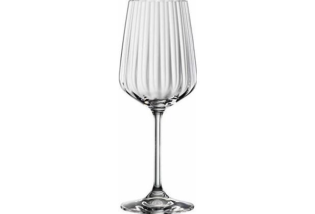 Spiegelau Spiegelau LifeStyle Weißweinglas, 4er-Set