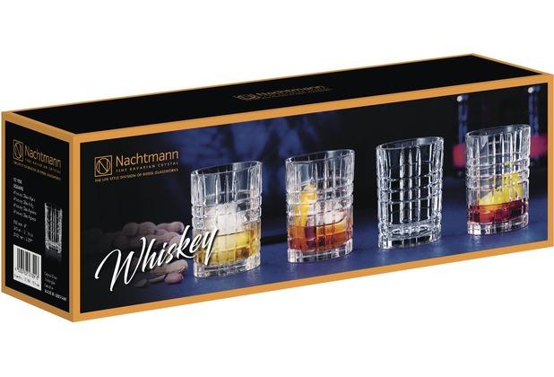Nachtmann Square Whiskey 4er Set