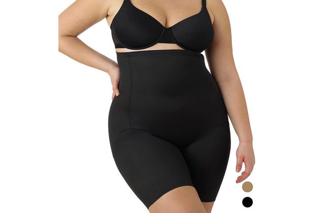 Naomi & Nicole Miederhose Body Shaper Bauchweg Unterhose Bodyshaper Figurformende Wäsche Schwarz L (42)