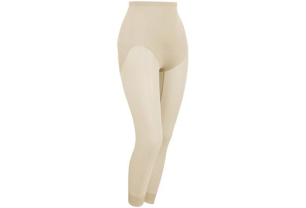 Naomi & Nicole Miederhose Hose mit langem Bein Body Shaper Bauchweg Unterhose Figurformende Wäsche Haut L (42)