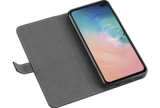 nevox ORDO Bookcase Samsung Galaxy S10+, schwarz-grau