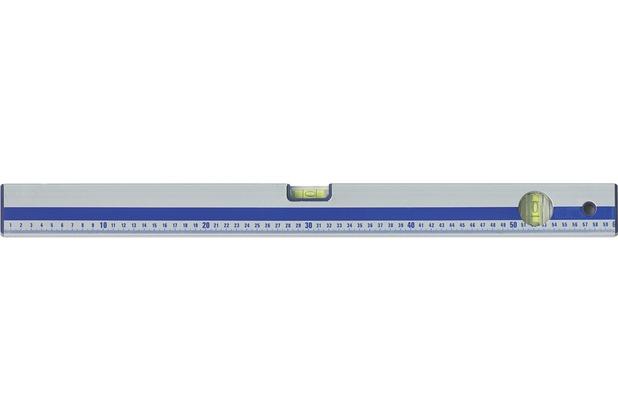 New Walls hochwertige Aluminium Wasserwaage mit 2 Libellen 600 mm