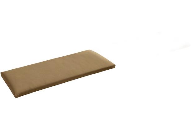 Niehoff Garden Bankauflage Quick dry Füllung Bezug Cartenza beige 155x38x4cm