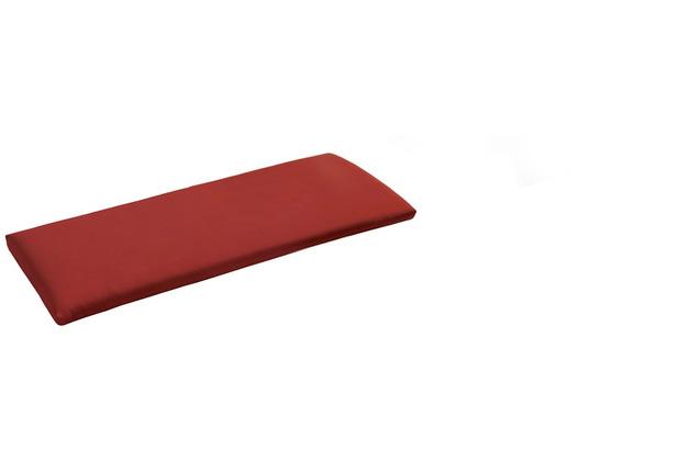 Niehoff Garden Bankauflage Quick dry Füllung Bezug Cartenza rot 155x38x4cm
