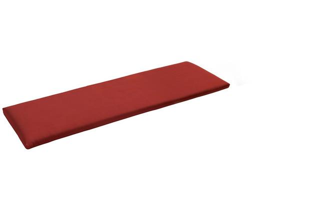 Niehoff Garden Bankauflage Quick dry Füllung Bezug Cartenza rot 175x38x4cm