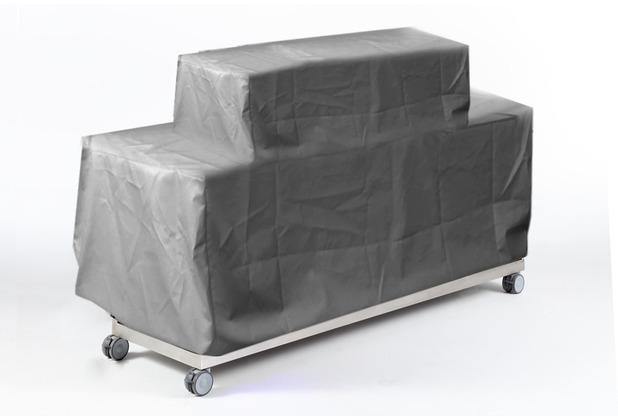 Niehoff Garden Schutzabdeckung mit Kordelzug für Gasgrill-Wagen OUTDOOR-KÜCHE Stamoid Smart 1 246,5x83 / 126,6cm