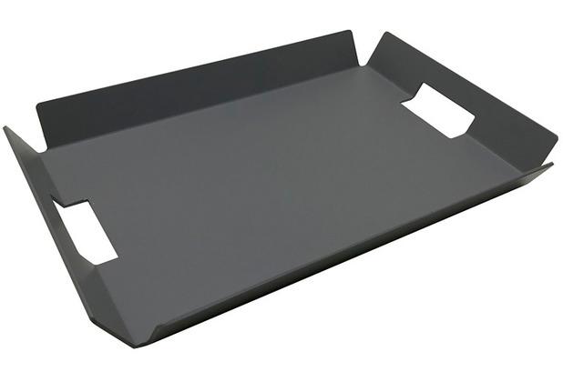 Niehoff Garden Tablett 43x30x4,6cm Aluminium grau