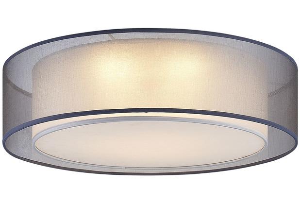 Nino Leuchten Deckenleuchte rund grau 1flg CHLOE 60900102