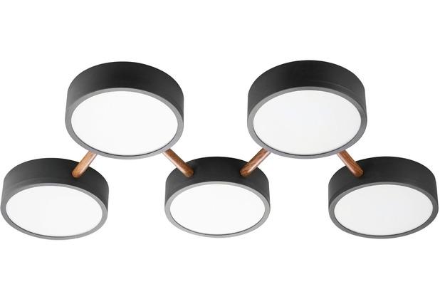 Nino Leuchten LED Deckenleuchte 5-flg DIEGO Designleuchte 60510502
