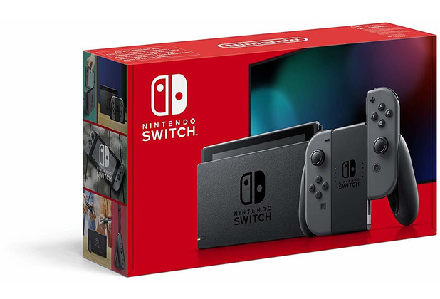 Nintendo Switch (2019 Edition), grau