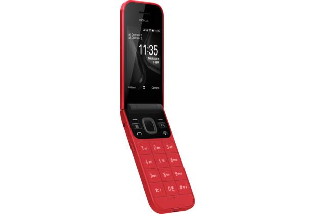 Nokia 2720 Flip (rot)