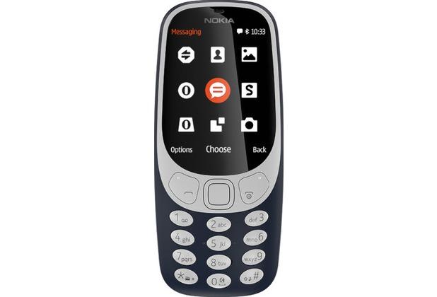 Nokia 3310 Dual-SIM (2017) - dark-blue