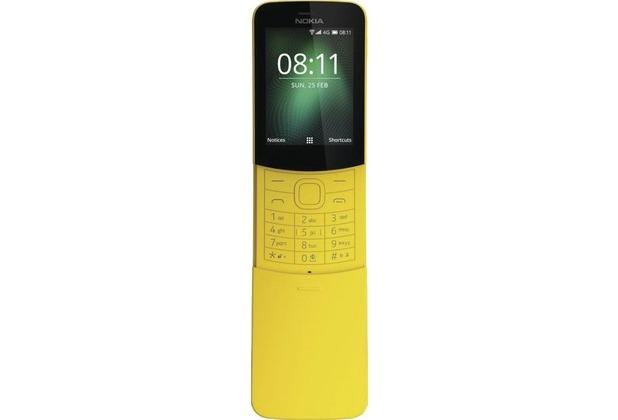 Nokia 8110, 4G, Dual-SIM, yellow