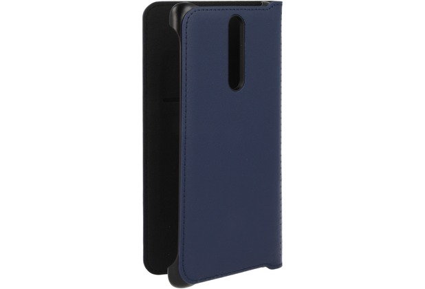 Nokia CP-801 - Leather Flip Cover - Nokia 8 - blue