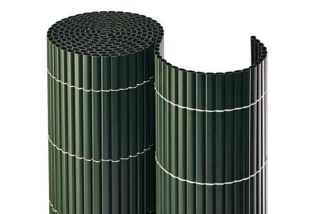 NOOR Balkonblende Balkon Sichtschutz PVC Premium MADE IN GERMANY ca. Größe 0,90x3 m Farbe grün