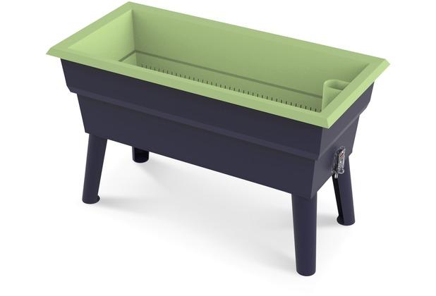 NOOR Hochbeet Calipso 81x39x50cm 7 Liter Wasserspeicher Farbe grün