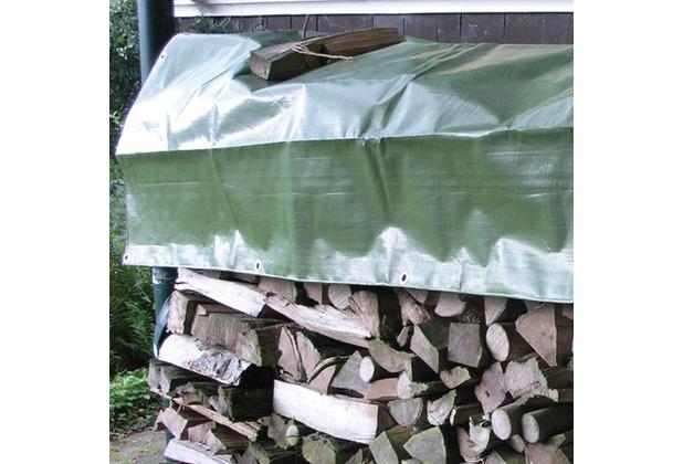 NOOR Holz-Abdeckplane 210g/m² ca.1,50 x 6 m grün