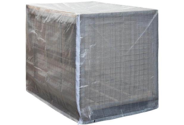 NOOR Palettenhaube LDPE 125 x 85 x 98 cm (L x B x H) 120 g/m² ideal für Gitterboxen & Paletten