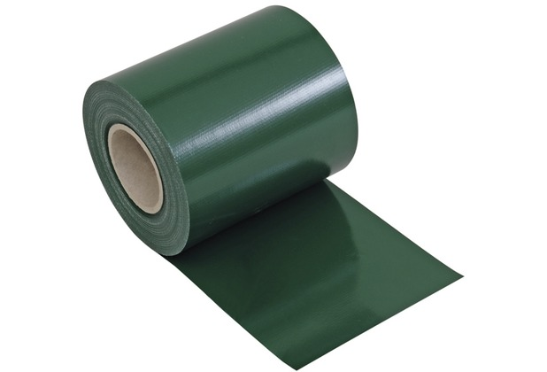 NOOR Sichtschutzstreifen PVC Zaunblende 0,19x35 m Zaun Farbe grün (RAL 6005)