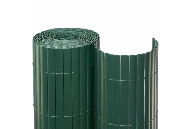 NOOR Sichtschutzmatte PVC Sichtschutz Kunststoff ca. Größe 1,00x3 m Farbe grün