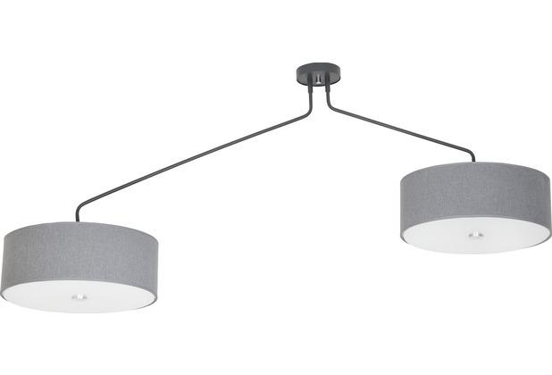 Nowodvorski HAWK gray II Deckenleuchte abgewinkelt grau