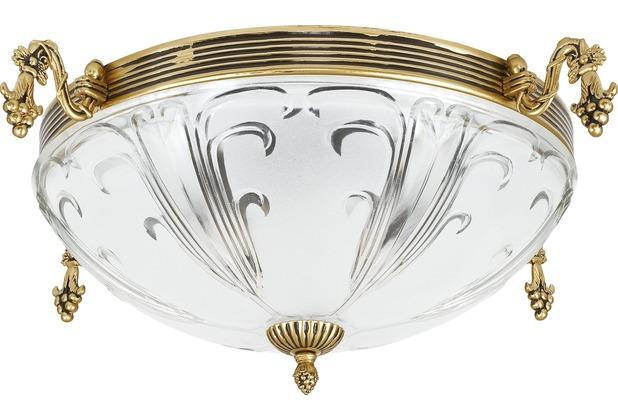 Nowodvorski PIREUS III Deckenleuchte Deckenleuchte gold patiniert