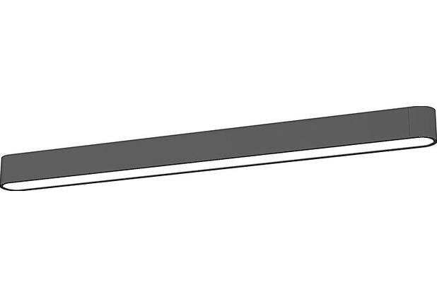 Nowodvorski SOFT LED GRAPHITE 90X6 grau