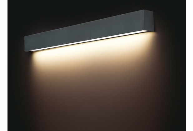 Nowodvorski STRAIGHT LED GRAPHITE M Wandleuchte anthracit