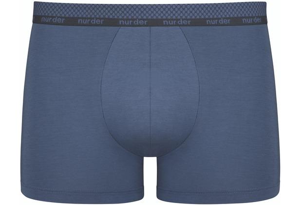 nur der Boxer Modal Cotton blau 5=M