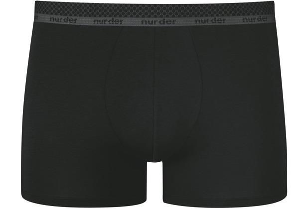 nur der Boxer Modal Cotton schwarz 5=M