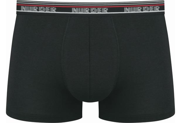nur der Boxer Powerful 3er Pack schwarz 5=M