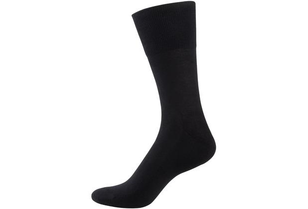 """nur der Herren \""""Baumwolle Aktiv Socke\"""" schwarz 39-42"""