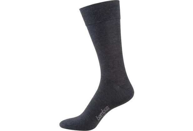 """nur der Herren \""""Bambus Komfort Socke\"""" anthrazitmel. 39-42"""