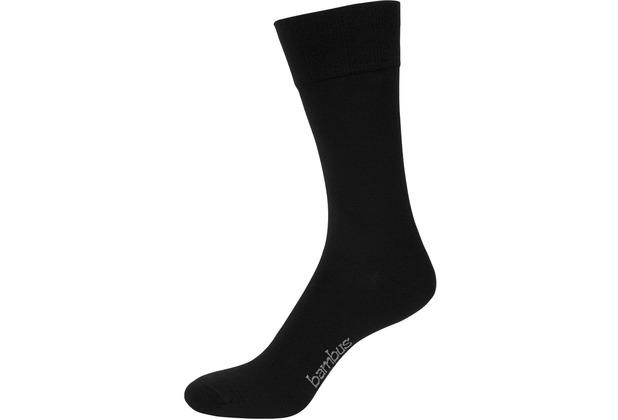"""nur der Herren \""""Bambus Komfort Socke\"""" schwarz 39-42"""